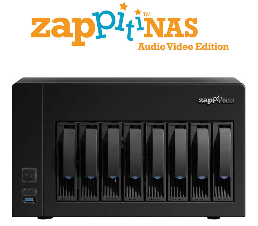Zappiti NAS Audio Video Edition