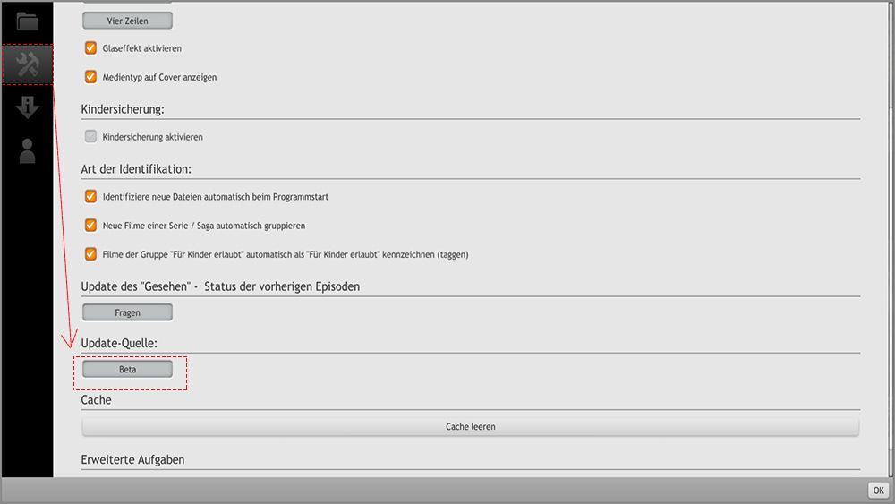 Wie man die Zappiti Media Control 4K App installiert