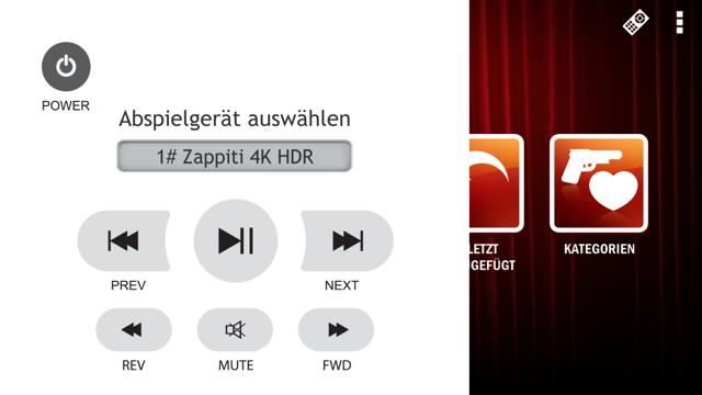Zappiti Media Control 4K